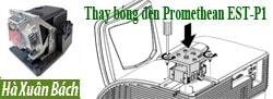 Hướng dẫn thay bóng đèn máy chiếu Promethean EST-P1