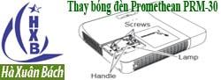 Hướng dẫn thay bóng đèn máy chiếu Promethean PRM-30