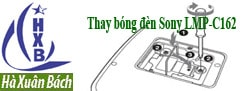 Hướng dẫn thay bóng đèn máy chiếu Sony LMP-C162