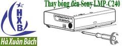 Hướng dẫn thay bóng đèn máy chiếu Sony LMP-C240