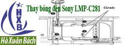 Hướng dẫn thay bóng đèn máy chiếu Sony LMP-C281