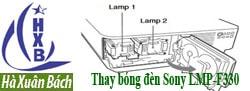 Hướng dẫn thay bóng đèn máy chiếu Sony LMP-F330