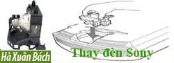 Hướng dẫn thay bóng đèn máy chiếu Sony LMP-H201