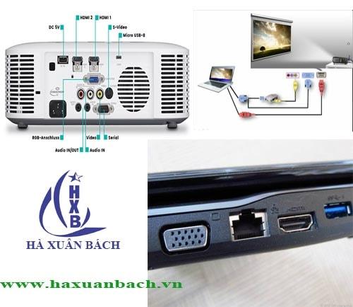 Hướng dẫn kết nối nhiều máy chiếu đến máy tính.