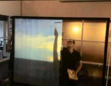 Màn chiếu dán tường - Màn chiếu Sơn