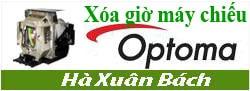 Hướng dẫn xóa giờ cho máy chiếu Optoma
