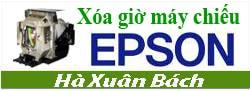 Hướng dẫn xóa giờ cho máy chiếu EPSON