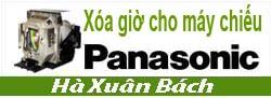 Hướng dẫn xóa giờ cho máy chiếu Panasonic