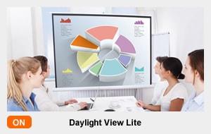 Máy chiếu Panasonic PT-LB382 chức năng daylight view