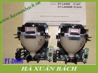 Bóng đèn máy chiếu Panasonic PT-D6000E