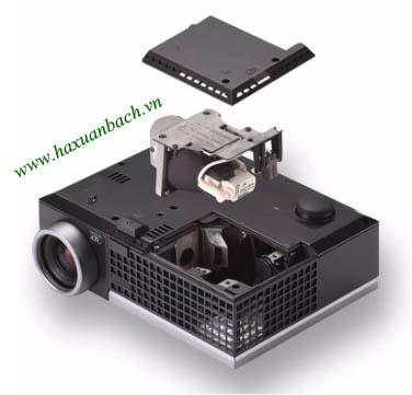 09 bước thay bóng đèn máy chiếu Dell M409X