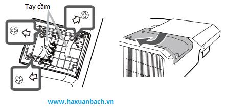 cách thay thế bóng đèn máy chiếu Hitachi CP-X3015WN