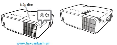 Hướng dẫn thay bóng đèn máy chiếu Hitachi CP-X3015WN