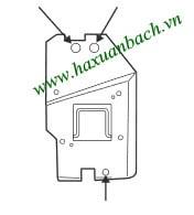 Cách thay bóng đèn Mitsubishi XD510U - 3
