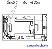 Bóng đèn máy chiếu Panasonic PT-X302 hd tháo đèn