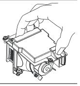 Bóng đèn máy chiếu Panasonic PT-LB353 với tay cầm