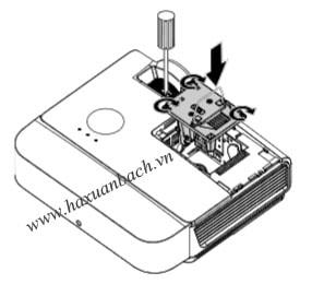Thay bóng đèn máy chiếu Promethean PRM-36 bước 6