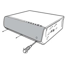 Thay bóng đèn máy chiếu Sony VPL-CX100 bước 1