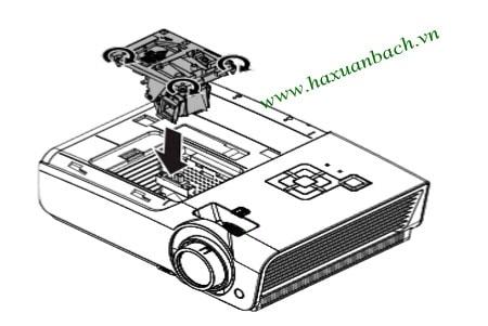 Thay bóng đèn máy chiếu Vivitek DH976