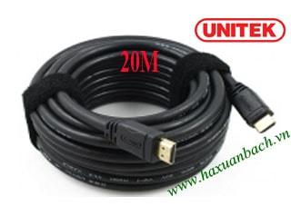 Cáp HDMI 20M Unitek 1.4/4k
