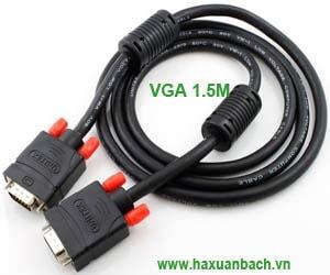 Cáp VGA 1.5M Unitek