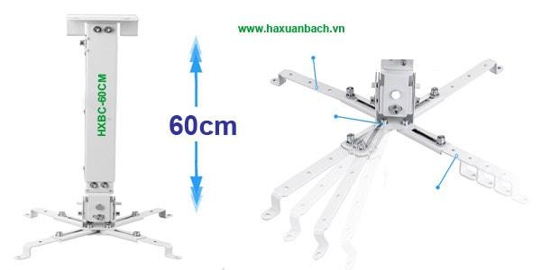 Giá treo máy chiếu 60cm đa năng