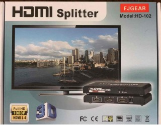Bộ chia HDMI FJGEAR HD-102