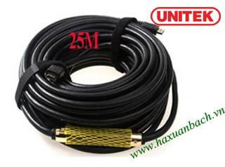 Cáp HDMI 25M Unitek 1.4/4K
