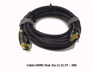 Cáp HDMI 3M Z-TEK V1.4-ZY200