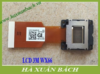 LCD máy chiếu 3M WX66