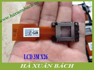 LCD máy chiếu 3M X26