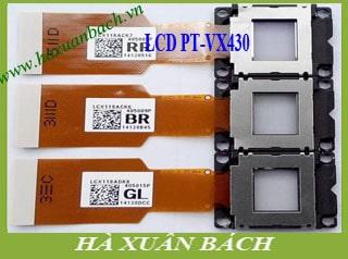 LCD máy chiếu Panasonic PT-VX430
