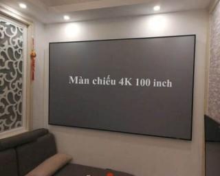 Màn chiếu 4k 100
