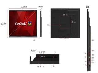 Màn hình tương tác Viewsonic IFP6550