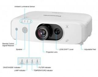 Máy chiếu Panasonic PT-FX500E