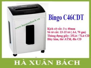 Máy hủy giấy Bingo C46CDT