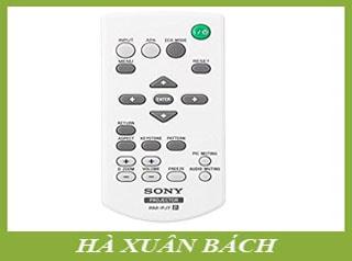 Remote máy chiếu Sony