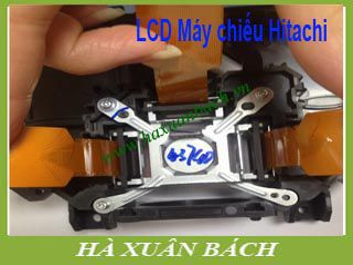 Thay LCD máy chiếu Hitachi