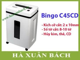 Máy hủy giấy Bingo C45CD