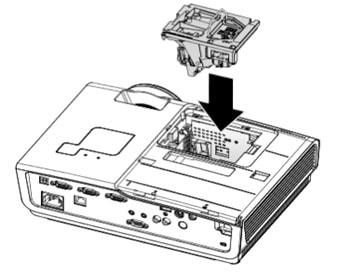 Thay bóng đèn máy chiếu Promethean PRM-25-bước 6