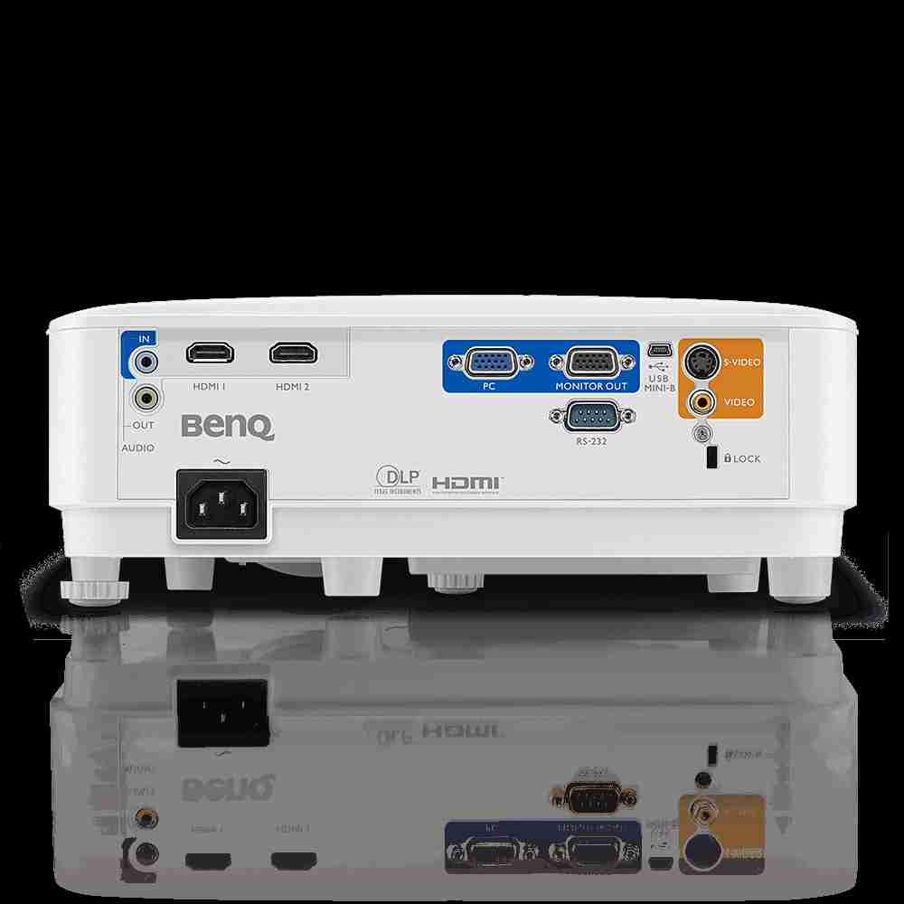 Máy chiếu BenQ MS550 trang bị 2 cổng HDMI